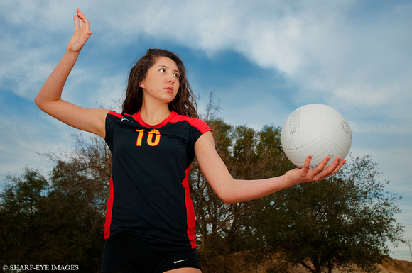 Sharp-Eye Images photo shoot for SportStars Magazine feature of Gabriella Palmeri of St. Francis High School Sacramento going to Pepperdine University to play volleyball