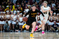 OPEN DIVISION GIRLS CIF STATE BASKETBALL FINAL CLOVIS WEST VS. ARCHBISHOP MITTY 3/25/17