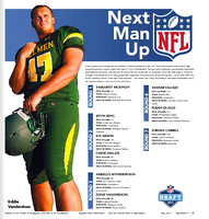 Eddie Vanderdoes NFL Draft 2017